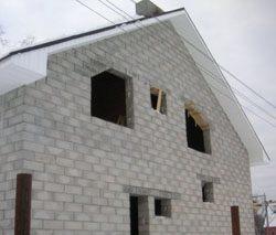 Качественный и недорогой дом из пеноблоков, кирпича, бруса в городе Старый Оскол, можно заказать в нашей компании профессиональных строителей СтройСервисНК